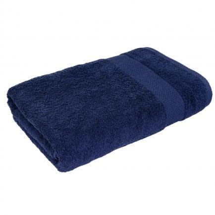 Фото -Махровий рушник (темно-синій) 70х140см 161684