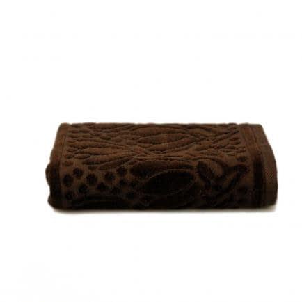 """Фото -Рушник махровий Shamrock """"Iola"""" (темно-коричневий), 50х90см 94555"""