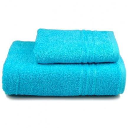 Фото -Полотенце махровое Home Line (голубое), 50х90см 80556