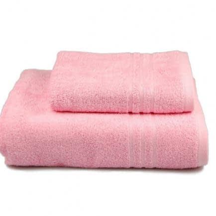 Фото -Полотенце махровое Home Line (розовое), 50х90см 80316