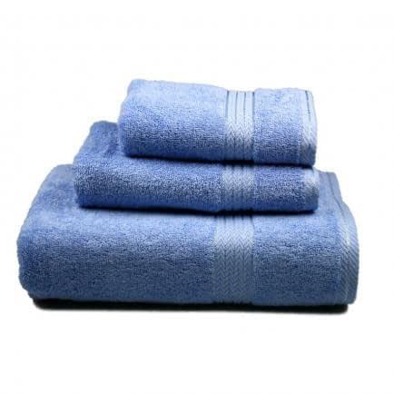Фото -Полотенце махровое Home Line (голубое), 40х80см 96283