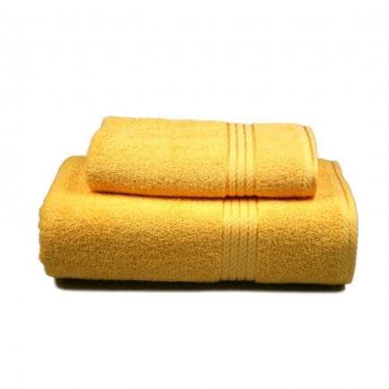 Фото -Полотенце махровое Home Line (желтое), 70х140см 84793