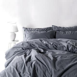 """Семейный комплект постельного белья Limasso """"Natural grey"""" (серый) 160650"""