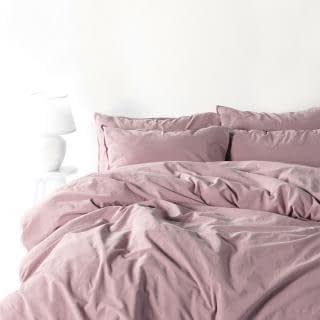 """Семейный комплект постельного белья Limasso """"Natural violet"""" (светло-фиолетовый) 160645"""